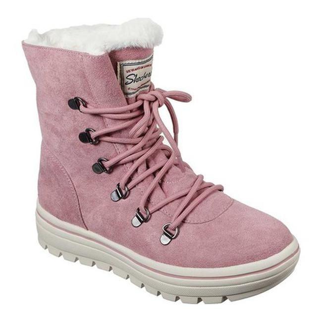 Majestuoso Orgullo Abundancia  Shop Skechers Women's Street Cleat Snowslide Boot Pink - Overstock -  29902111