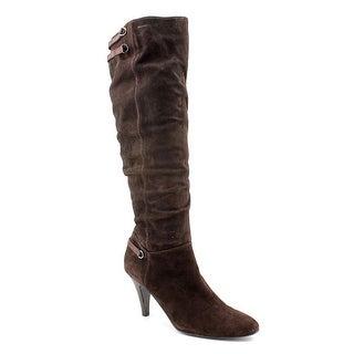 Alfani Taye Women Pointed Toe Suede Knee High Boot