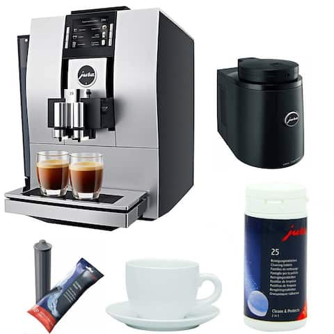 Jura Z6 Coffee Center w/ Chilled Milk Container Bundle (Refurbished)