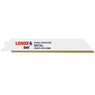 "Lenox 21070-818G Reciprocating Blade, 8"", Gold"