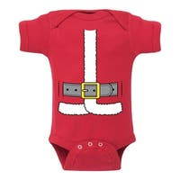 Santa Suit - Infant One Piece