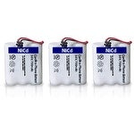 Replacement Uniden BT905 Battery for DXAI4288 / EXA2950 / EXI7246B Phone Models (3 Pack)