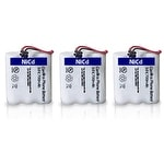 Replacement Uniden BT905 Battery for DXAI5180 / EXA6950 / EXI7926 Phone Models (3 Pack)