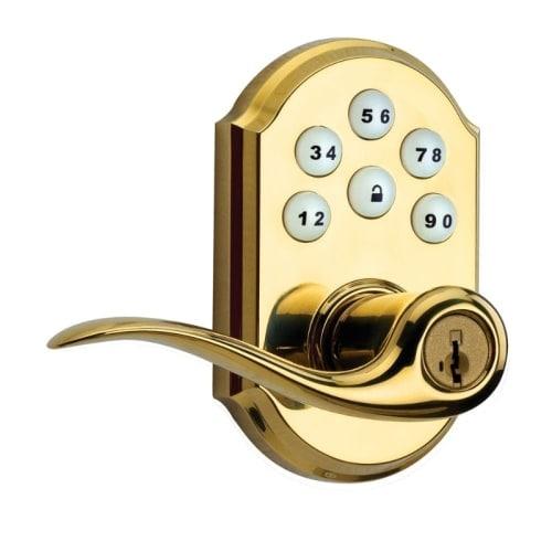 Kwikset 911TNL SmartCode Tustin Electronic Keyless Keypad Leverset