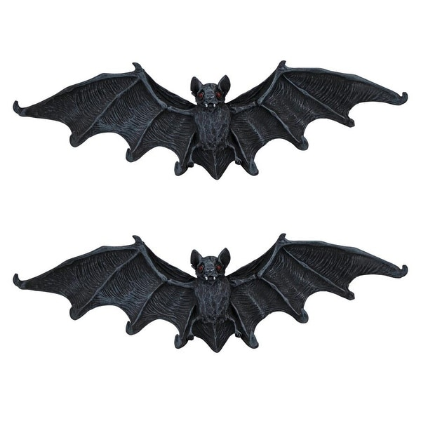 Design Toscano Vampire Bat Key Holder Wall Sculpture Set Of Two Medium Free Shipping On Orders Over 45 20176668