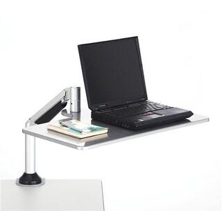 Safco Desktop Sit/Stand Workstations, Silver Desktop Sit/Stand Workstations