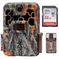 Browning Spec Ops FHD Extreme Trail Game Camera with 32GB Card and Focus Reader - Camouflage
