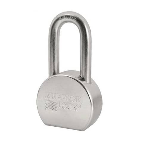 "American Lock A703KA#34875 Zinc Plated Steel, 2-1/2"""