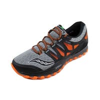 Saucony Men's Xodus Iso Grey/Orange-Black S20325-1