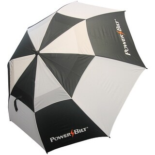 "PowerBilt 62"" Wind Cutter Dual Canopy Umbrella"