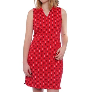 Charter Club Nantucket Sleeveless Collared Neck Women Regular Casual Dress