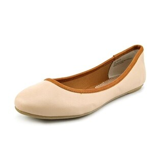 American Rag Cellia Women Round Toe Synthetic Nude Flats