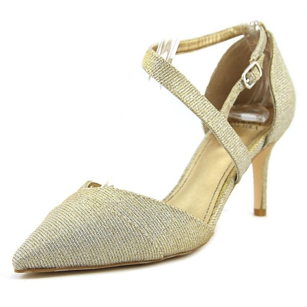 Badgley Mischka Elayna Sil Pumps