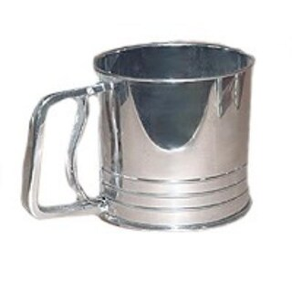 Progressive GFS5 Flour Sifter, 5 Cup, Stainless Steel