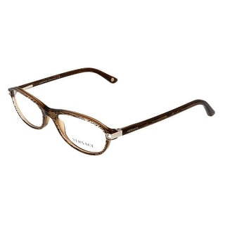 Versace VE3165B 991 Clear Brown Oval Opticals