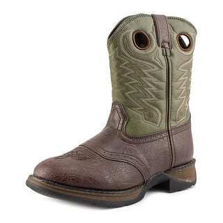 Durango Rebel Youth Round Toe Synthetic Brown Western Boot