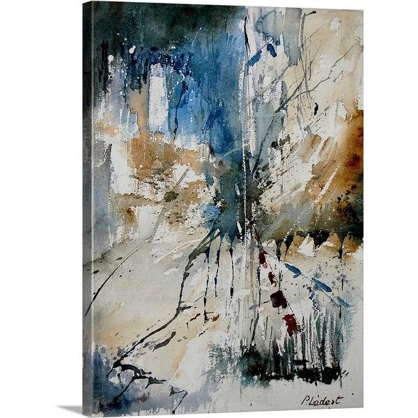 """""""Aqua 251108"""" Canvas Wall Art"""