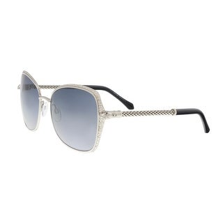 Roberto Cavalli RC977S 16B TABIT Silver Round Sunglasses - 58-19-135