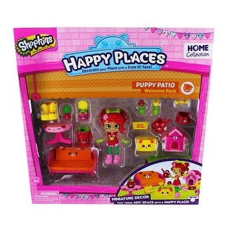 Shopkins Happy Places Welcome Pack: Puppy Patio