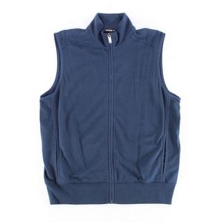 Michael Kors NEW Navy Blue Mens Size Small S Full-Zip Vest Jacket