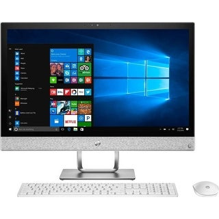 "Manufacturer Refurbished - HP Pavilion 24-R014 23.8"" Touch AIO Desktop Intel i5-7400T 2.4GHz 12GB 2TB W10"