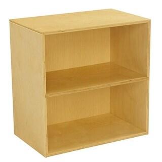 23.75 x 14.75 x 23.75 in. Mini 2 Shelf Narrow Storage Unit
