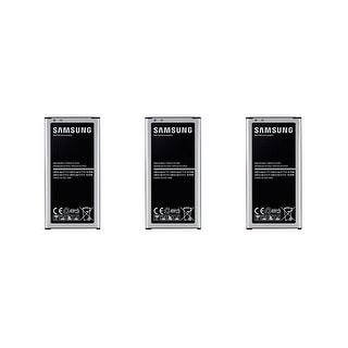 Three Replacement OEM Batteries for Samsung Galaxy S5 Devices