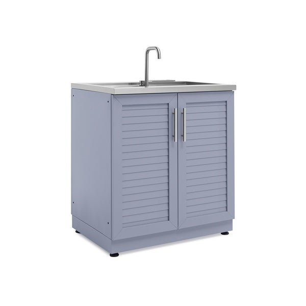 Outdoor Sinks And Cabinets: Shop NewAge Products Outdoor Kitchen 32 Inch W X 24 Inch D
