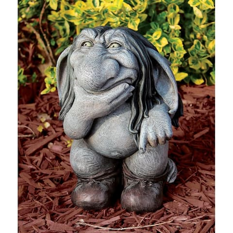 Pondering Sylvester Gnome Statue