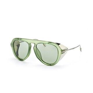 GG3737/S Unisex Aviator Sunglasses - Green