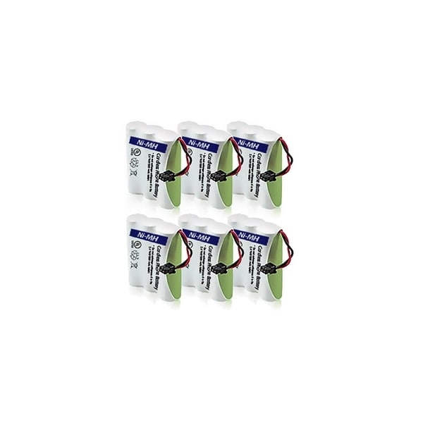 Replacement Panasonic KX-TC1743B NiMH Cordless Phone Battery (6 Pack)