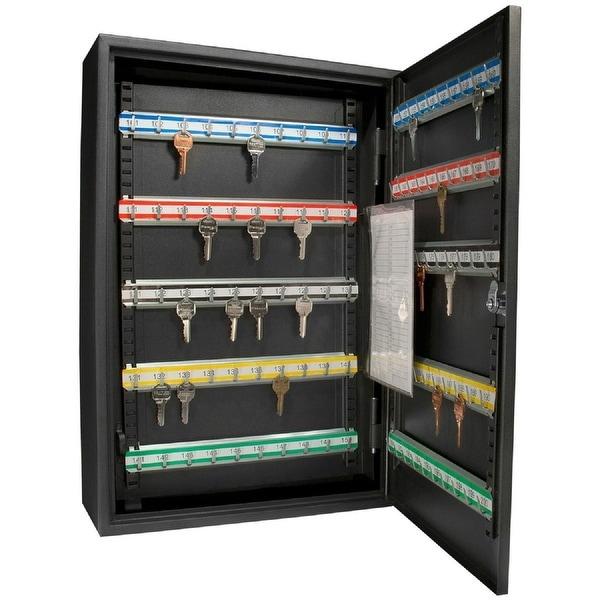 Barska Deluxe 200 keys heavy duty Lock Box With Key Lock AX11824