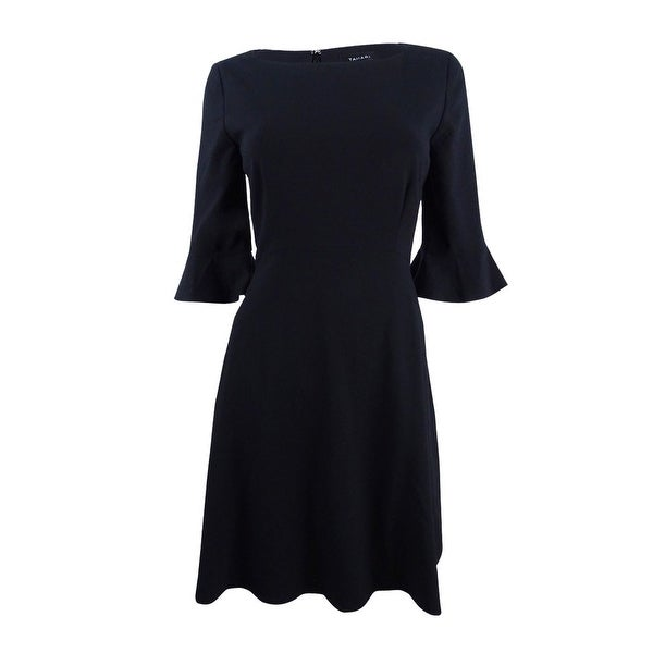 Shop Tahari Asl Women S Bell Sleeve Fit Amp Flare Dress 16
