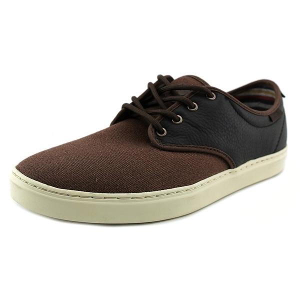 Vans Ludlow Round Toe Leather Sneakers