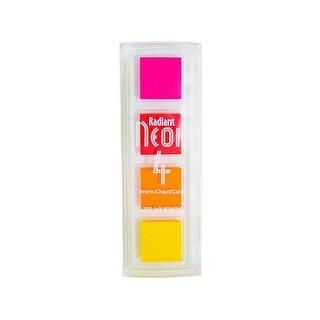 Tsukineko Radiant Neon Pigment Ink Pad Quad Warm