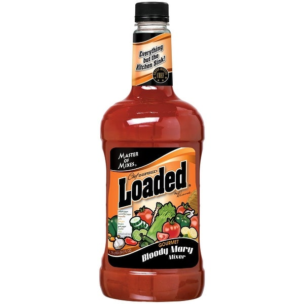 Master of Mixes Loaded Blood Mary Mixer - Case of 6 - 59.2 Fl oz.