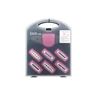 AMC KnockOut Punch Border Value Kit 2 Pink