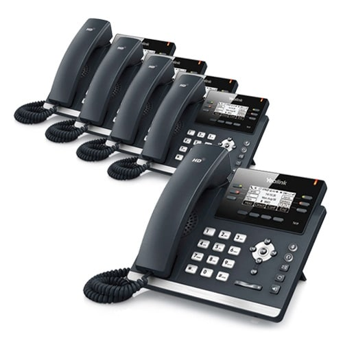 """Yealink SIP-T42G (5 Pack) Ultra-Elegant Gigabit IP Phone"""