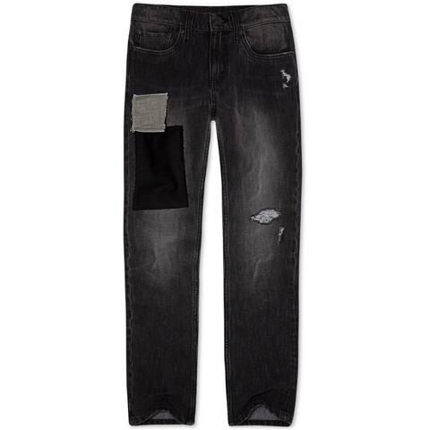 Levi's Boys Wrap Stretch Slim Fit Jeans, black, 6