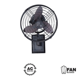 """Craftmade Faraday  Faraday 14"""" 3 Blade (Included) Indoor Wall Mount Fan -"""
