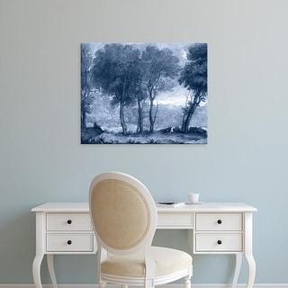 Easy Art Prints Claude Lorrain's 'Pastoral Toile I' Premium Canvas Art