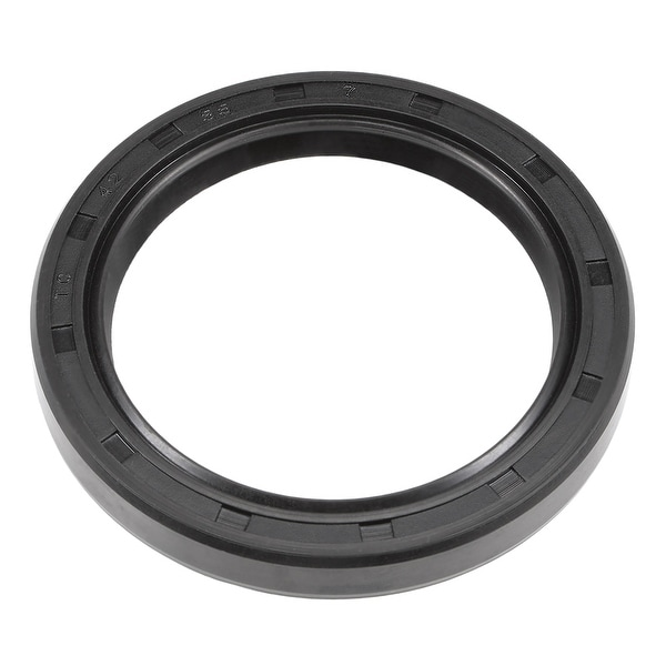 Oil Seal, TC 42mm x 55mm x 7mm, Nitrile Rubber Cover Double Lip - 42mmx55mmx7mm