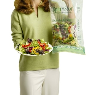 HIC RG900 Spin'n Stor Salad Spinning Bags, Per Pack 4
