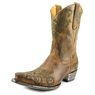 "Old Gringo AVEIRO 10"" Pointed Toe Leather Western Boot"