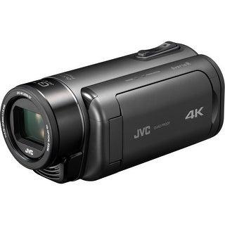 JVC Everio GZ-RY980HUS Quad-Proof 4K Camcorder with 10x Optical Zoom (Gray)
