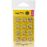 "Waffle Flower Crafts Clear Stamps 2""X3""-Currently Feeling"