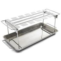"Broil King 64152 Wing Rack, Stainless Steel, 16.5"" x 7.25"" x 1.5"""