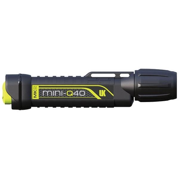 UK MiniQ40 MK2, Pillow Pack, with Batteries Dive Light Black