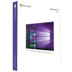 """Microsoft FQC-08788 Microsoft Windows 10 Pro 32/64-bit - Box Pack - 1 License - x Flash Drive - PC - English"""