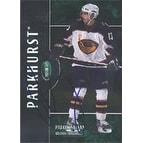 Patrik Stefan Atlanta Thrashers 2003 Parkhurst Foil Autographed Card This item comes with a certif